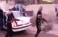 Alleged Clip of Saddam Hitmen Killing Shi'a Cleric