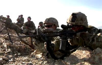 U.S. Army Firefight in Wardak, Afghanistan