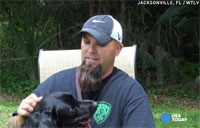 Service Dog Calms War Vet's PTSD