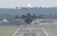 Airbus A400M Does Awesome Zoom Climbs