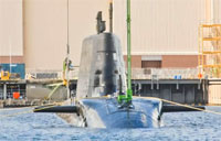 Royal Navy's Astute Class Sub Maiden Dive