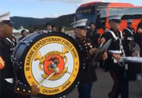 Marines and Korean Army Band Go to Battle