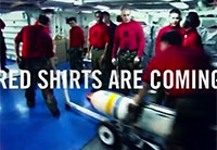 America's Navy - Red Shirts