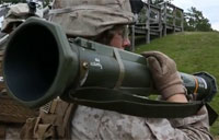Marines Fire Rockets during Live-Fire Exercise