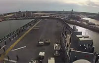 Timelapse of USS Bataan's Homecoming