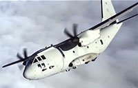 C-27J Spartan Military Transport Aircraft