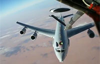 French C-135 Refueling Mission Over Iraq