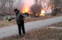 Incendiary Weapons Used in Ukraine Attacks