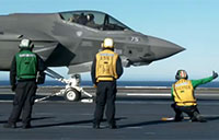 Crew Interviews from F-35C Sea Trials