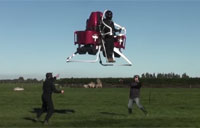 The Martin Jetpack in-Flight