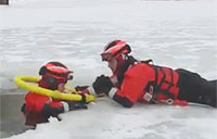 Coast Guard Crews Train in Frigid Conditions
