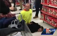 Drill Sergeant Stops Purse Snatcher at Walmart