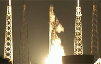 SpaceX CRS-5 Falcon 9 Rocket Lifts Off