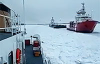 Breaking Ice with the U.S. Coast Guard