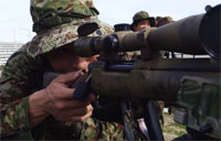 Japanese Scout Sniper Training