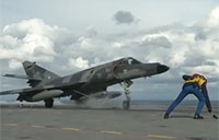 Awesome Takeoffs from French Aircraft Carrier