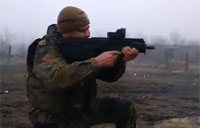 Ukrainian Soldiers Fire Fort-224 Assault Rifles
