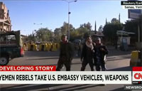 Yemen Rebels Take U.S. Embassy Vehicles