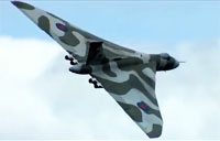 Outstanding Avro Vulcan XH558 Display