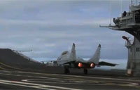 Russian Fighter Short Carrier Takeoff