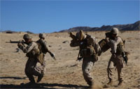 Riflemen Conduct Offensive Operations