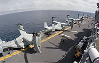 MV-22 Flight Deck Timelapse
