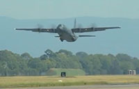RAAF C-130J Formation Flight