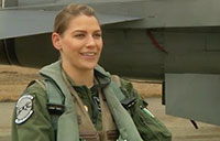 Female F-16 Pilot Reflects on Heritage
