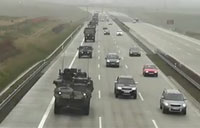 U.S. Army Convoy in the Czech Republic