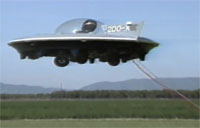 1988 Manned Test Flight of Flying Car