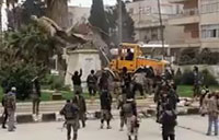 Rebels Destroy Another Statue in Syria