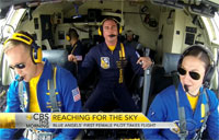 Blue Angels' First Female Pilot