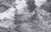 Air Strike Targets ISIL Military Garrison