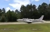 Plane Lands Gear Up Then Keeps Flying