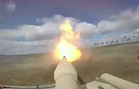 M1A2 Battle Tanks Conduct Live Fire