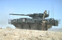 The Most Powerful US Wheeled Tank M1128 Stryker