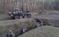 U.S. Army Training in Latvia
