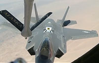 F-35A Lightning II Stealth Refueling Mission