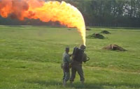 Marine Flamethrower Demo