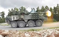 Army Stryker Live Fire