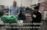 T-Shirts Get Veterans Off the Streets