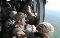 U.S. and Lithuanian Airborne Operation