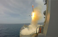 Tomahawk Cruise Missile Test