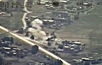 Iraqi Helicopters Attack ISIS