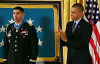 Medal of Honor Ceremony - Capt. Florent Groberg
