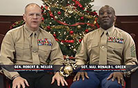 CMC & SMMC Holiday Message to Marines