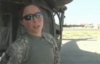 Female Black Hawk Pilot