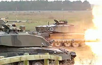 British Army Live Fire Exercise