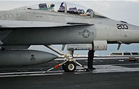 F-18s Launch on USS Truman