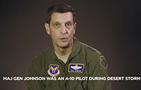Maj. Gen. Paul T. Johnson on Desert Storm